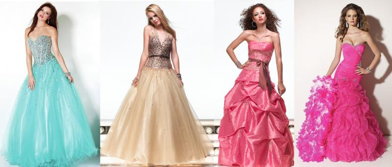 Бальные платья на выпускной - образ принцессы для стильной и яркой...