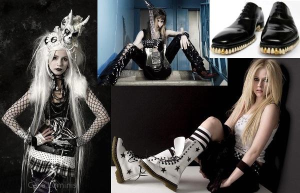фото в стиле рок девушки